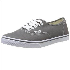 Grey Women's Vans lo pro size 6